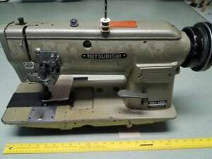 Double Needle Waking Foot 3 8 Gauge Industrial Sewing Machine head Only