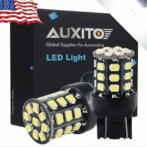 Auxito 2x 7443 7440 Xenon White 33a Led Back Up Reverse Light Bulbs For Ram 1500