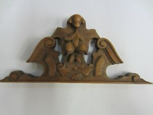 Topper Pediment Crown Antique 7