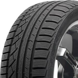 1 New 245 45r17xl 99v Continental Contiwintercontact Ts810 S 245 45 17 Snow Tire