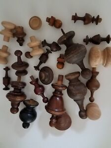 Miscellaneous Old Finials 77