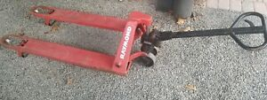 Raymond Pallet Jack 5000 Pounds High Quality Pre owned Tough Works Great