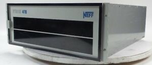 Neff System 470 Data Acquisition Unit 470050 472060 16ch Ampl mux 1ghz Modules