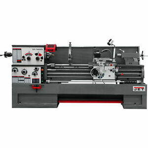 Jet Zx series Lg Spindle Bore Lathe With Collet Closer 16inx60in