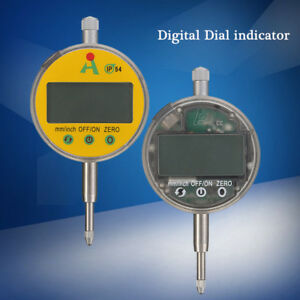 0 01mm 0 0005 Range 0 12 7mm 1 Gauge Digital Lcd Dial Indicator Precision