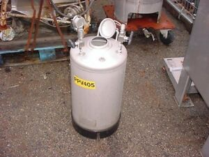 8 5 Gallon 316l Stainless Steel Pressure Tank 190 Psi