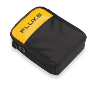Soft Carrying Case 9x7 5 16x2 5 8 yl blk Fluke C280