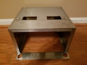 Hobart Commercial Stainless Steel Pop up Toaster Riser Stand For 2 Toasters