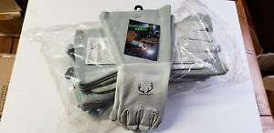 1 Doz 12 Pair Weldas Deersosoft Tig mig Welding Gloves 10 2350l With 4 Le