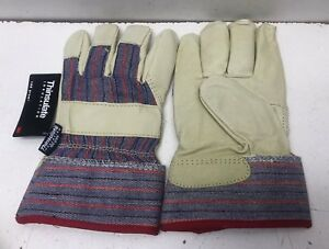 12 Pairs Thinsulate Insulation Men s Winter Work Gloves 100 Gram Size Small