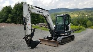 2014 Case Cx55b Excavator Low Hours Hydraulic Thumb Angle Blade We Finance