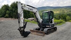 Bobcat 331g Excavator Low Hours Hydraulic Thumb Kubota Diesel We Finance