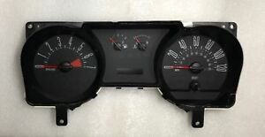 2007 2008 2009 Ford Mustang Speedometer Instrument Gauge Cluster 7r33 10849 Ac