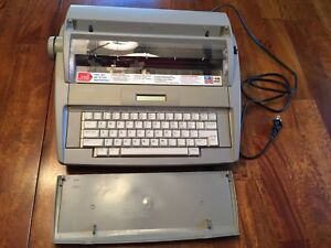 Brother Sx 4000 Electronic Typewriter With User s Guide Tested And Works