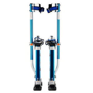 Drywall Stilts Tool Professional 18 30 For Sheetrock Drywall Cleaning Blue