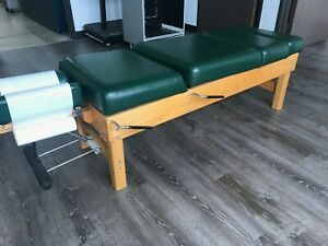 Thuli 300 Chiropractic Drop Lumbopelvic Thoracic Cervical Drop Table Solid Wood
