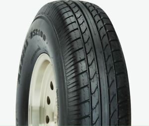 2 New Duro Radial Ds2100 St205 75r15 C 6 Ply Trailer Tires