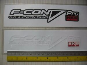 X2 Hks F Con V Pro Di Cut Sticker Decals Jdm Aftermarket Racing Sponsor