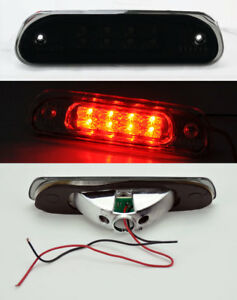Black Smoked Rear 3rd Third Led Brake Light For Jeep Grand Cherokee 1999 2004