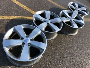 20 Jeep Grand Cherokee Overland Oem Factory Stock Wheels Rims 5x5 5x127 18
