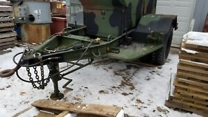 Military Generator Trailer 2 1 2 Ton M200a1 2w Trailer Only