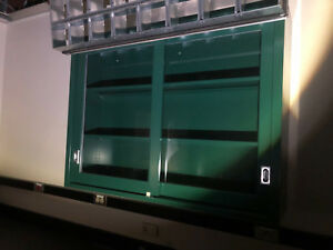 Lab Casework Overhead Cabinet Green 48 x36 x12 Deep