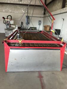 Used Plasmacam 5x10 Plasma Table With Hypertherm 65 Don t Miss This Deal