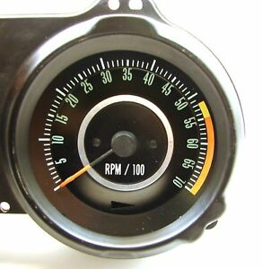 1967 Camaro Factory Original Gm 5500 7000 Tachometer Original Gm