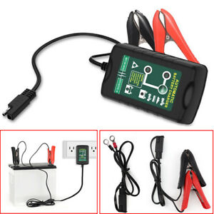Automotive Battery Charger Maintainer 6v 12v Automatic Smart Car Motocycle Truck