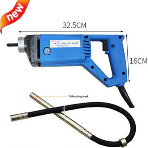 Portable 220v 1300w Electric Concrete Vibrator Hand held Concrete Mixer 13000rpm