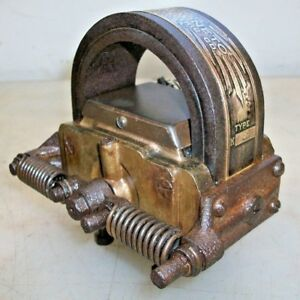 Webster K Brass Magneto Serial No 1158 For Hit And Miss Old Gas Engine Mag Hot