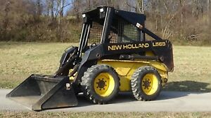 1997 New Holland L565 Skid Steer With Bucket