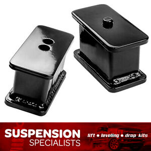 3 Rear Lift Kit Angled Blocks 2000 2005 Ford Excursion 4x4 4wd 2wd Suspension