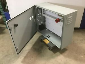 Hoffman Csd243010 Electrical Enclosure Panel Box Nema Type 12 24 x30 x10 holes
