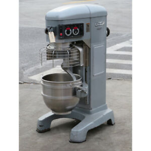 Hobart 60 Quart Hl600 Legacy Mixer With Bowl Guard Used Good Condition