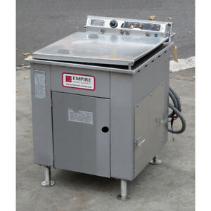 Dca Rfr 124 Electric Stainless Steel Donut Fryer Used Great Condition