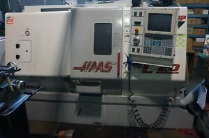 Haas Sl 20 Cnc Turning Center Live Tool And Bar Feed
