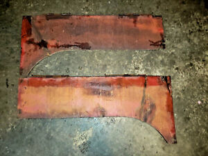Massey Harris 101jr Tractor Engine Side Curtains Shields 1939 Mh Parts