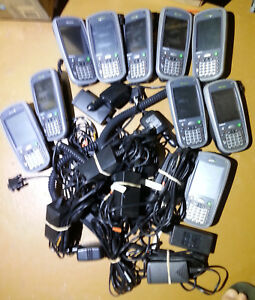 Lot Of 10 Hhp Dolphin 7900 Pocket Pc Barcode Scanner 7900l0p