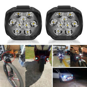 9led Motorcycle Headlight Spot Lights Head Lamp Led Front Dc12v Driving Xs