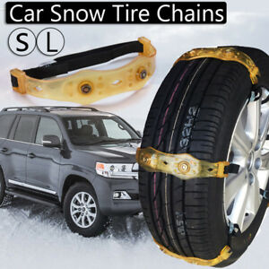 Winter Anti Skid Chains Car Snow Mud Wheel Tyre Thickened Tire Tendon 225mm 285m