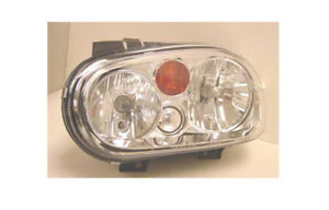 Replacement Depo 341 1108l asf y Driver Side Headlight For 2002 Volkswagen Golf