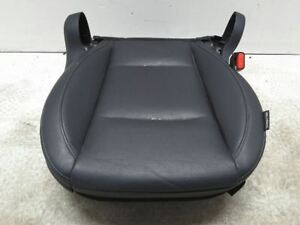 Outback 2015 Right Front Seat Bottom Black Leather Electric Oem