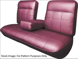 1963 Cadillac Deville Coupe With Armrest Rear Seat Cover