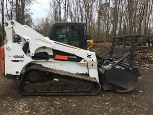 2012 Bobcat T870 With Bobcat Frc60 Forestry Mulcher 2462