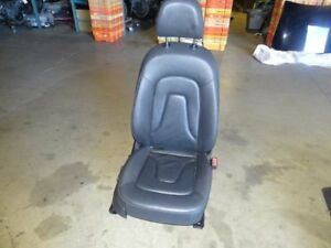 09 Audi A4 B8 Sport Wagon Front Right Passanger Seat Electric Leather Black