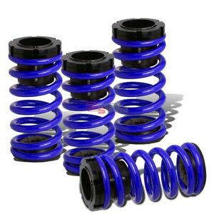 Lowering Suspension Adjustable Coilover Blue Coil Springs For 03 08 Corolla E130