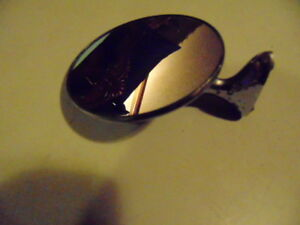 Vintage Round Car Side Mirror 1101 a