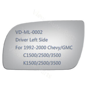 Mirror Glass Adhesive For Chevy C K 1500 2500 3500 Pickup Truck Left Side