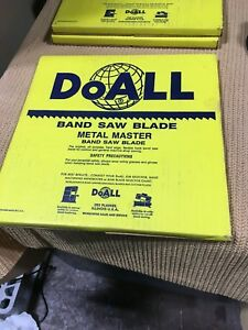 Doall 1 4 Band Saw Blade 100ft Type 334 243 new